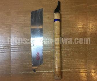 材木を切る道具はのこぎり