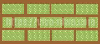 芝生の張り方