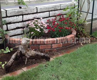 ガーデンニングで花壇つくり