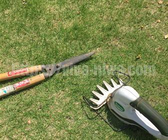 芝刈りの道具