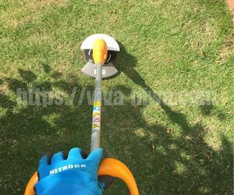 芝刈り方法