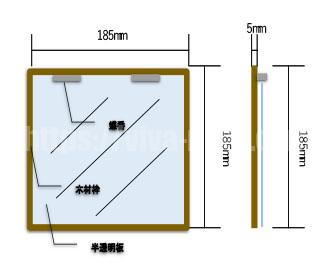 キャットドアの設計図を作る