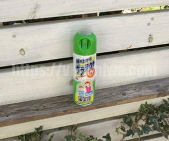 蚊の対策虫除けスプレー